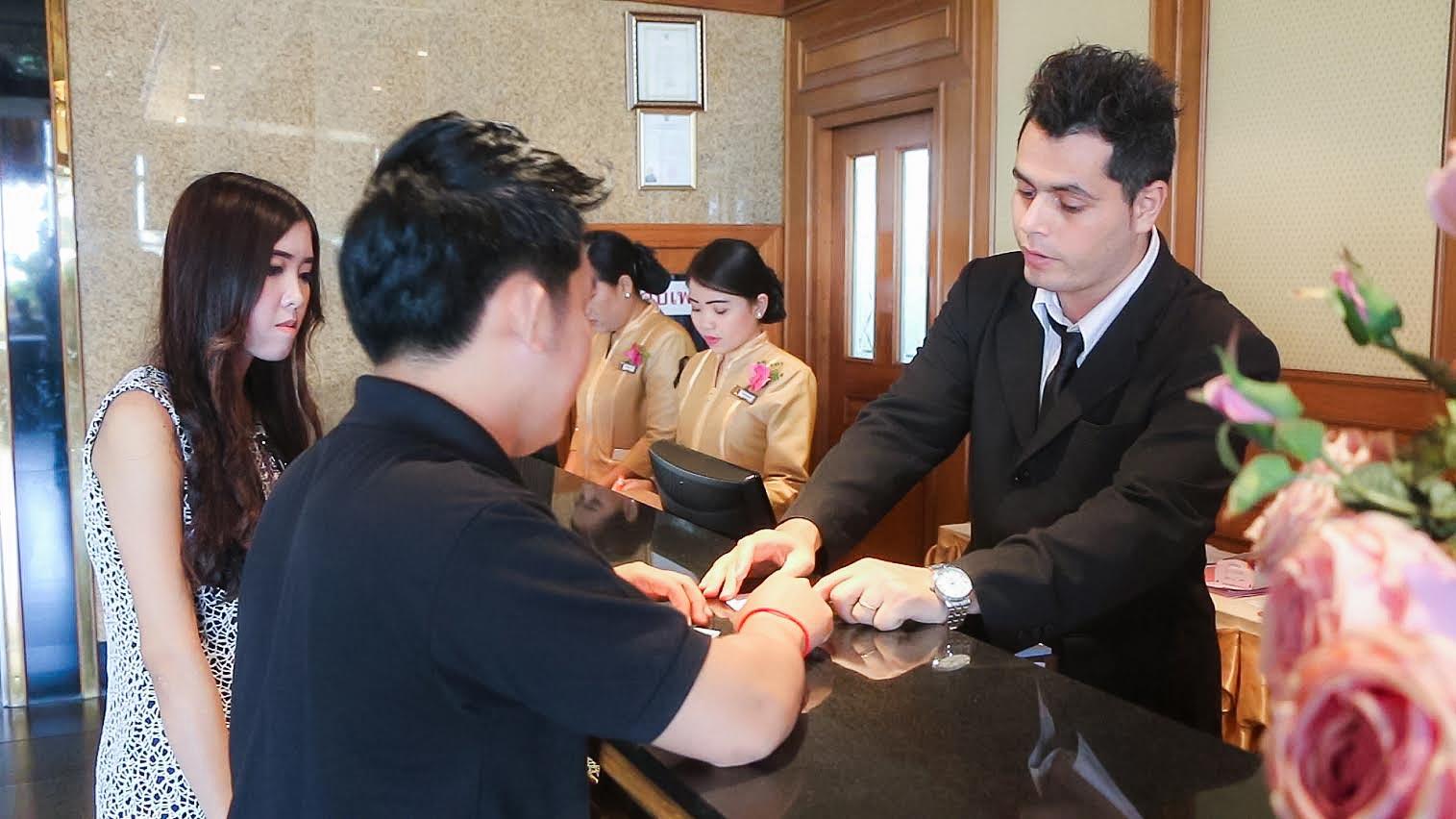 สหกิจศึกษา-Princs Palace Hotel วิทยาลัยนานาชาติ มหาวิทยาลัยศรีปทุม03