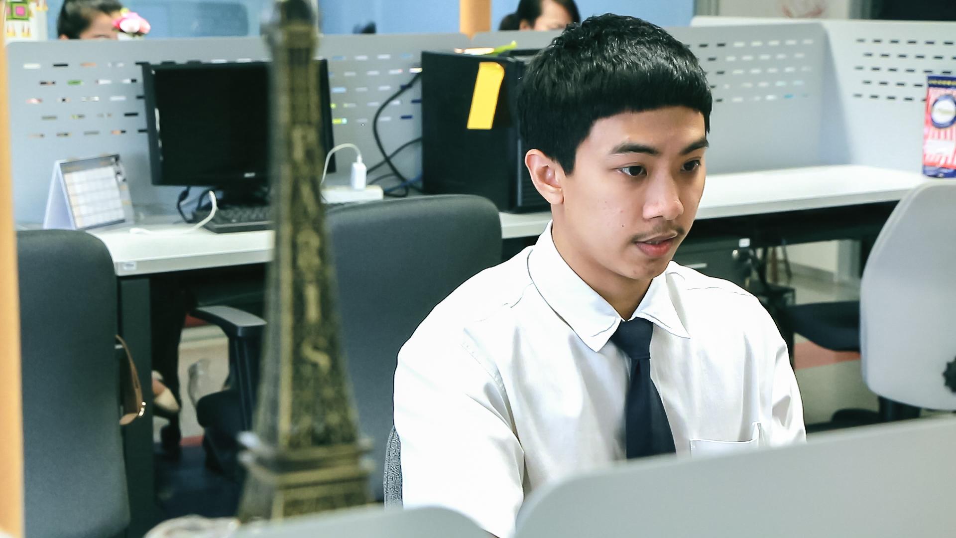 สหกิจศึกษา ภาษาอังกฤษธุรกิจ คณะศิลปศาสตร์ มหาวิทยาลัยศรีปทุม -Thai PBS 03