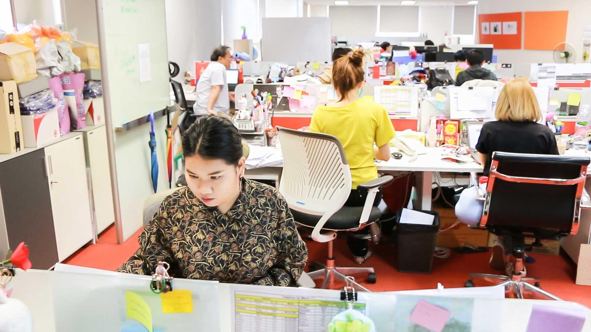 สหกิจศึกษา คณะนิเทศศาสตร์ : isobar Thailand 02