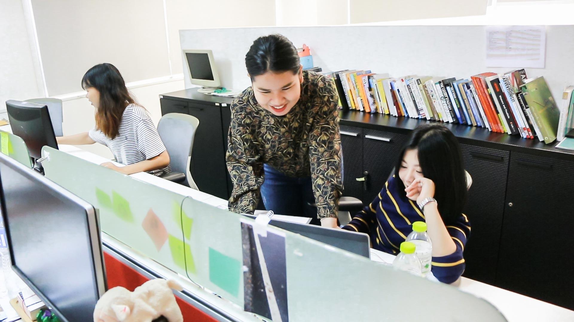 สหกิจศึกษา คณะนิเทศศาสตร์ : isobar Thailand 03